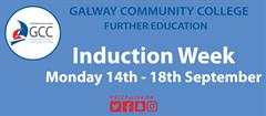 Course Induction Week Monday 14th - Friday 18th September