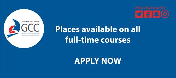 Places available on all full-time courses