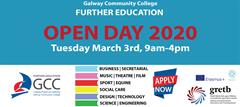 Open Day Tuesday March 3rd 2020 - Full-Time Courses