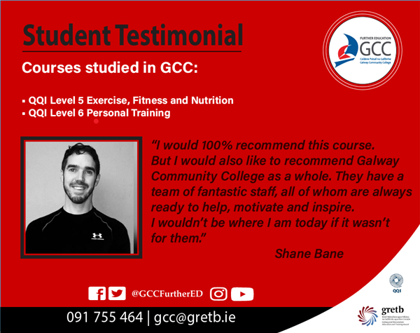 Student Testimonial - Exercise & Fitness / Personal Training