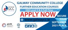 Apply Now for all full-time courses 2021/2022