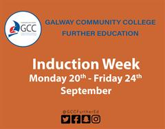 Student Induction for 2021/2022 - Full time courses