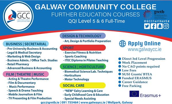 Places available on all courses - Apply Now!