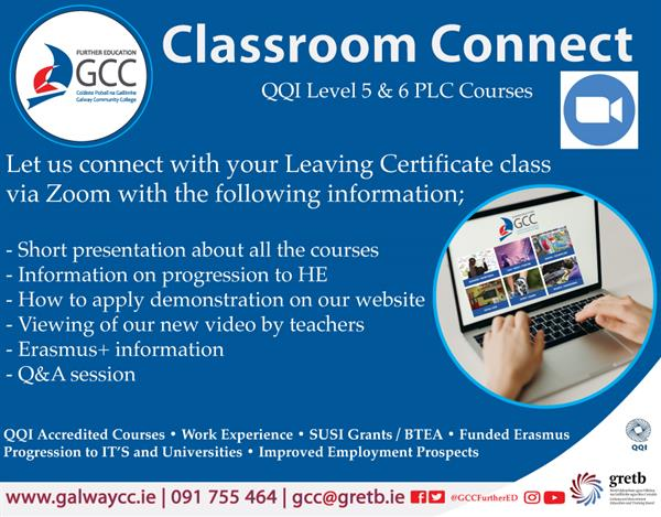 Classroom Connect for Leaving Certificate Students
